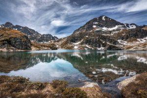 Lacs, étangs de Fontargente dans les Pyrénées - Ariège