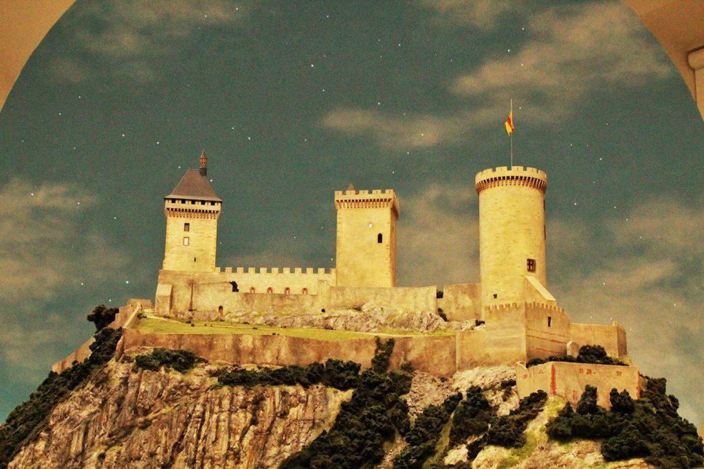 maquette château de foix