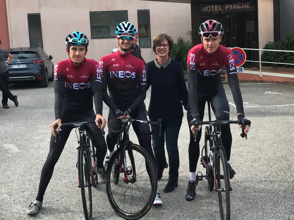 équipe ineos vélo